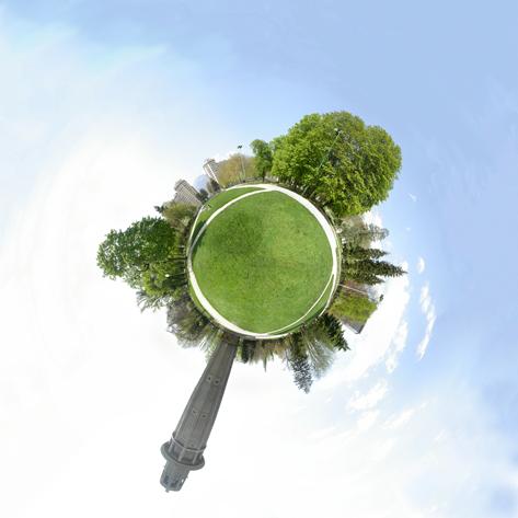 Wee Planet du parc Paul Mistral de Grenoble