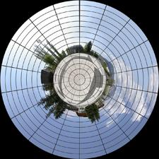 Filtre Coordonnées Polaires avec grille
